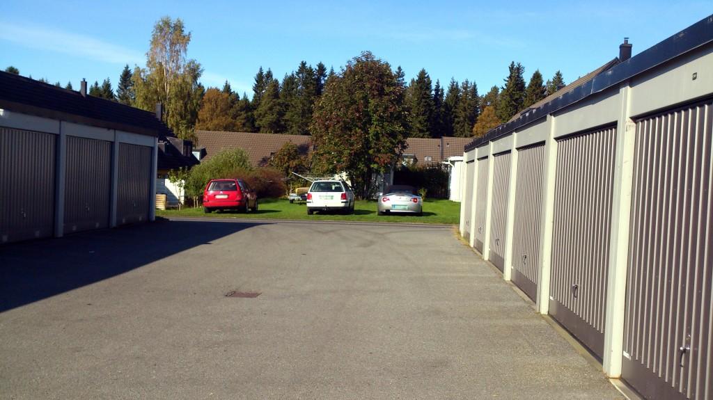 Parkering på gräsmatta bild 2