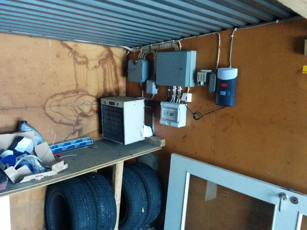 Installation av elmätare i varmgarage - bild 1