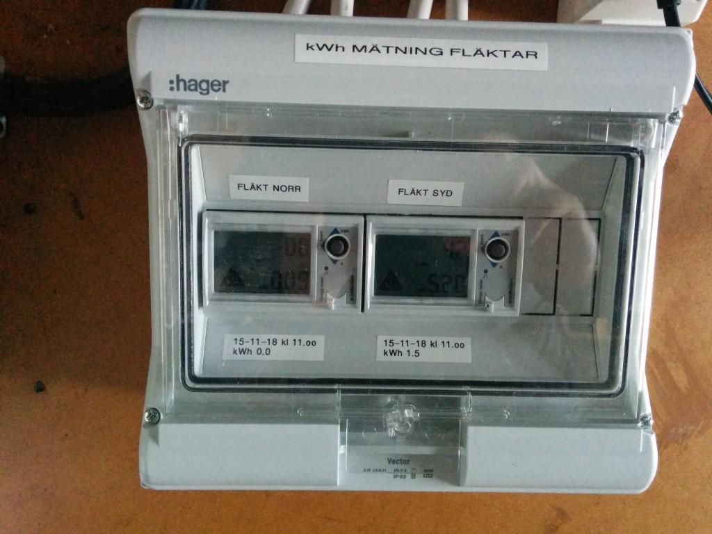 Installation av elmätare i varmgarage - bild 2